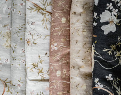 Tatra Flowers collection of fabrics