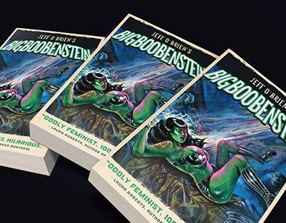 Big Boobenstein Book Jacket Design