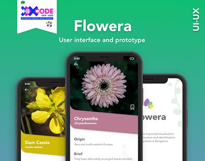 Flowera App | Featured in Top UI/UX Design - Indiefolio