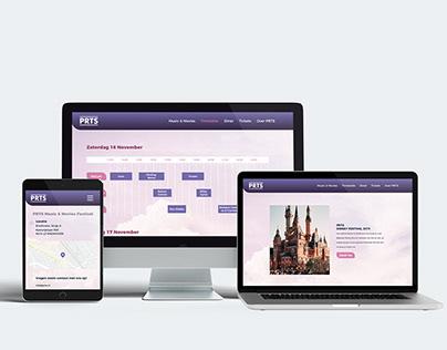 Festival XD Web Design