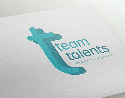 Team Talents - Logotype & site internet