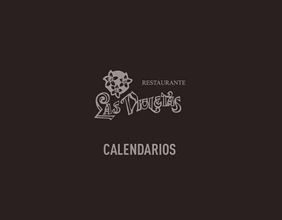 Calendarios Las Violetas