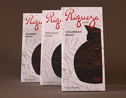 Riqueza Cafe Packaging