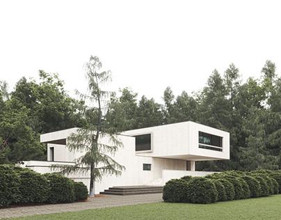Full CGI-Villa Waalre