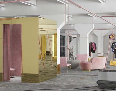 Design school with showroom and office