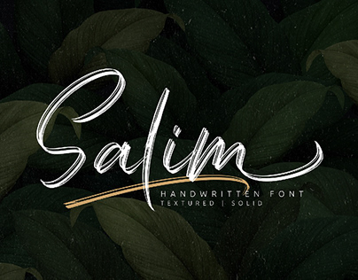 Free Salim Handwritten Font