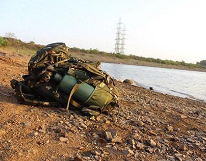 JIVA - Water Filter Bottle for CRPF Jawans