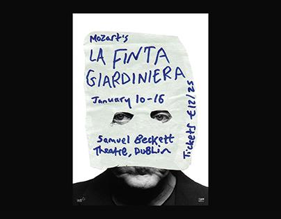 La Finta Opera – Poster and Identity