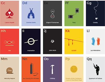 Movie Alphabets 2000 - 2015