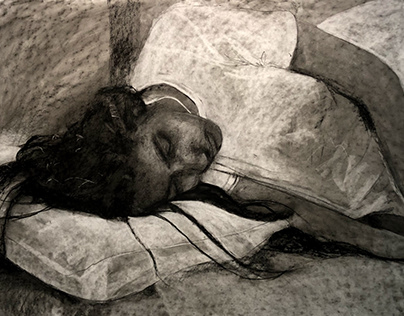 Drawing Marathon 2019- Sleeping Portrait