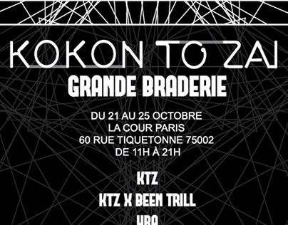 Kokon To Zai Paris Sample Sale Invitation