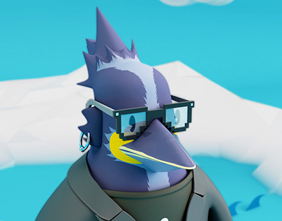 PNG The creative penguin
