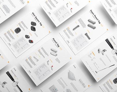 Product datasheet design - Vitag Australia