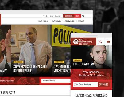 Southern Poverty Law Center - Responsive Redesign