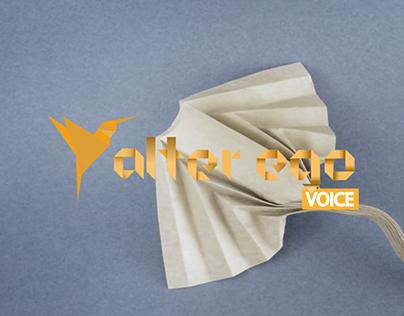 AlterEgo VOICE - Website & Design Content
