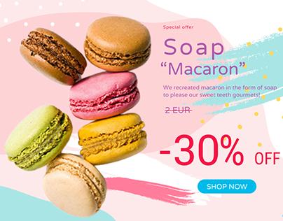 Banner soap