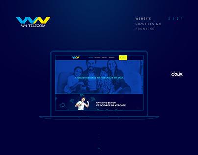 WN Telecom - Website