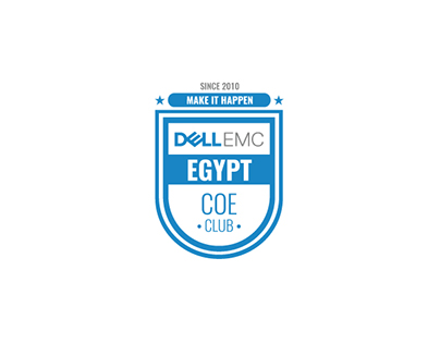 DELL EMC Egypt COE Club Logo