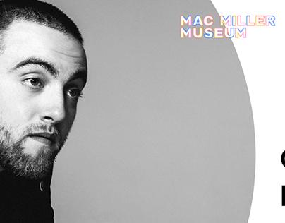 Mac Miller Museum Website Design