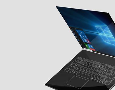 Infinity - An infinity screen laptop design