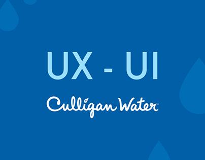 UX - UI DESIGN for Culligan