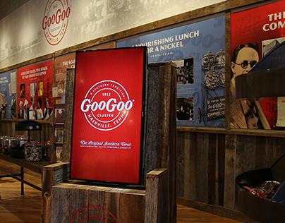 Goo Goo Cluster Nashville - Retail Store Design