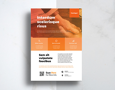 Flyer Design Minimalist Business Corporate