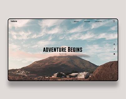 Venture Web Concept