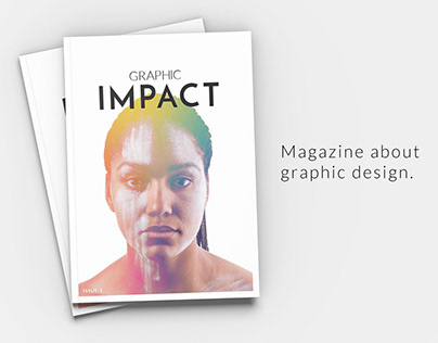 Graphic Impact - Printed magazine