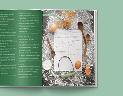 Baking Without Cookbook Art Direction and Design