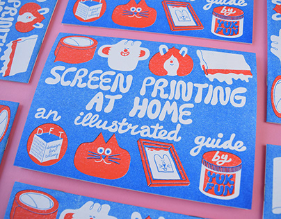 Screen Printing at Home - an illustrated guide