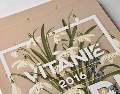Vítanie Jari 2016 (Spring Welcoming) - Poster