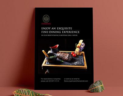 Flyer Design | Royal Maxim Palace Kempinski