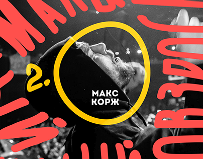 Invitation to the concert of Max Korzh