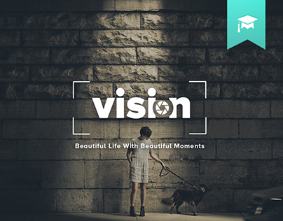 Vision | Photography Portfolio Website