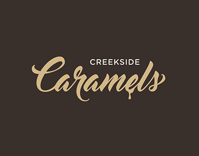 Logo & Packaging Design for Creekside Caramels