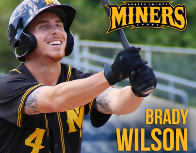 Sussex County Miners Social Media Graphics