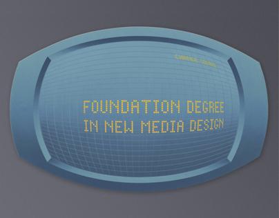 Foundation Degree In New Media Design