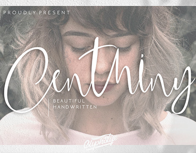FREE | Centhiny Beautiful Script Font