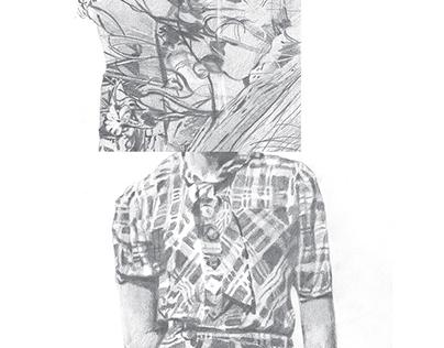Pinotta drawings