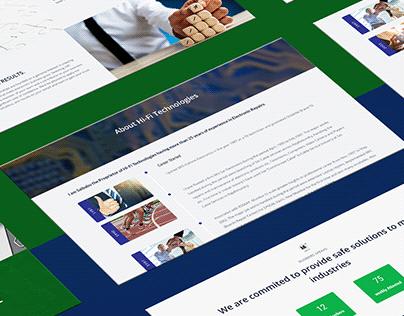 Hi-Fi Technologies Website Design
