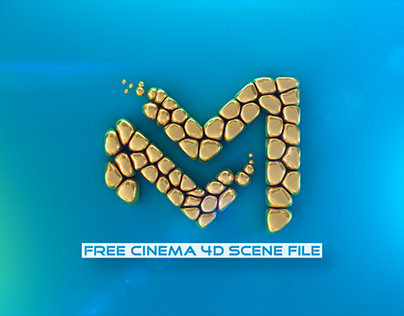 Simple Inflate   Fully Rigged Free Cinema 4D Scene File