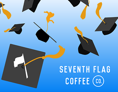 Seventh Flag Coffee Co. - College Campaign