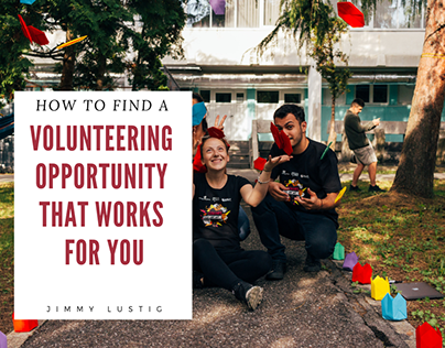 Jimmy Lustig | Find a Volunteering Opportunity for You