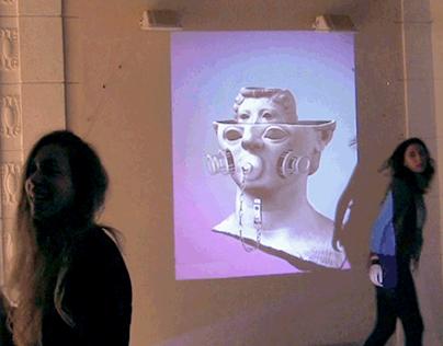 GIF ART - Exhibition at Kino klub / Zagreb CRO