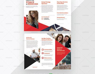 Ultra | Business Tri Fold Brochure Premium Template