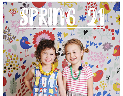 Pottery Barn Kids Spring 21 Collection