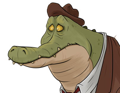 Croc of a Salesman