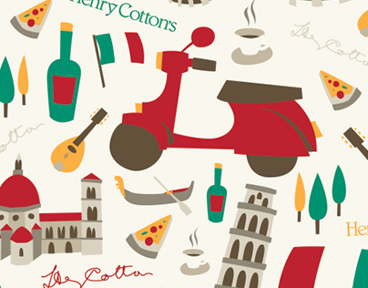 Henry Cotton's: Italian Holidays Pattern Pack
