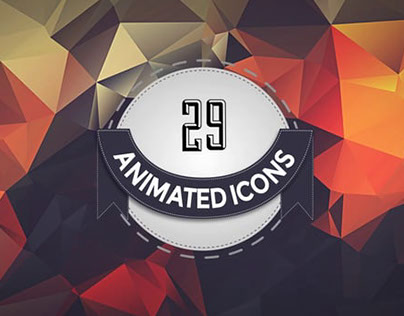 29 Social Network Animated Icons Template